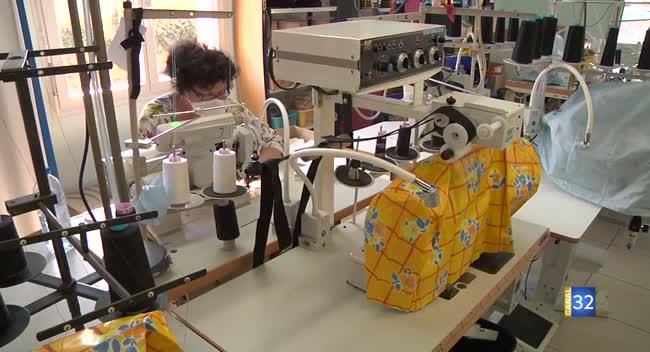 Canal 32 - Saint-André-les-Vergers : Medistyl fabrique des masques grâce aux dons