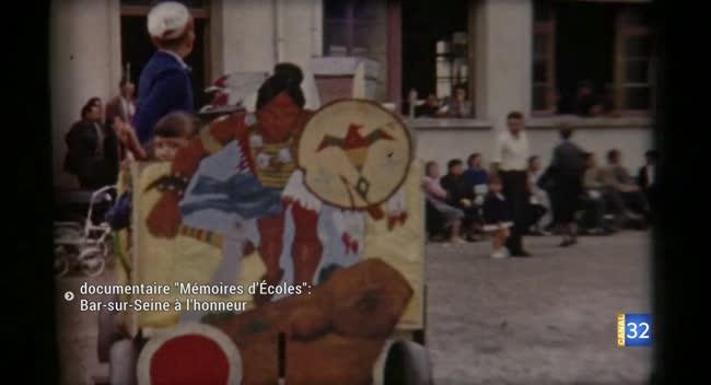 Canal 32 - Mémoires d'écoles : un documentaire inédit tourné à Bar-sur-Seine