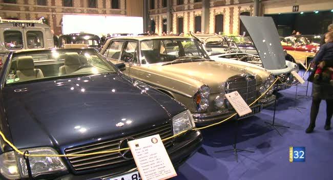 Canal 32 - Mercedes-Benz à l'honneur à Retroymobile
