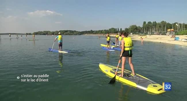 Canal 32 - Mesnil-Saint-Père : à la découverte du Paddle !