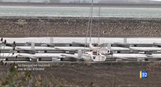 Canal 32 - Lac d'Orient : la réouverture de la navigation !