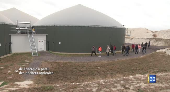 Canal 32 - Méthaniseurs agricoles : une source locale de gaz et d'électricité
