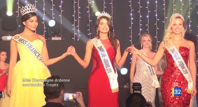 Canal 32 - Miss Champagne-Ardenne couronnée à Troyes. Reportage Complet.