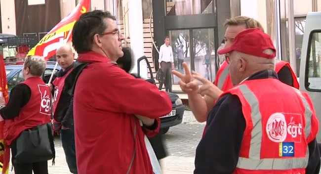 Canal 32 - Loi travail : la mobilisation faiblit dans les rues auboises