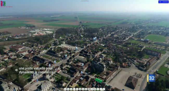 Canal 32 - Monuments et commerces de Brienne-le-Château dévoilés à 360°