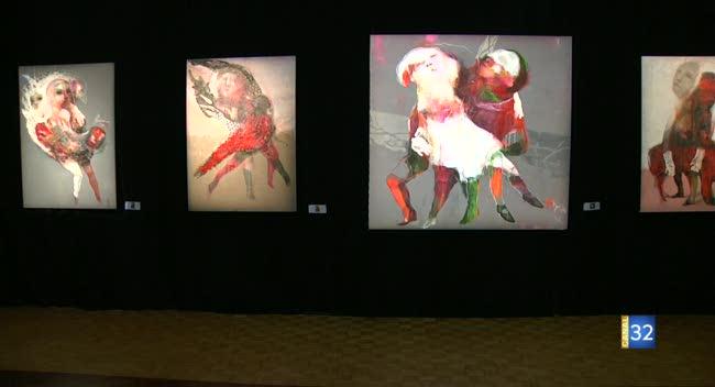 Canal 32 - Mosaïques : sept artistes contemporains à l'honneur à Pont-Sainte-Marie