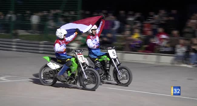 Canal 32 - Motoball : le Suma Troyes Champion de France juniors !
