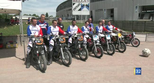 Canal 32 - Motoball, l'équipe de France en stage à Troyes !