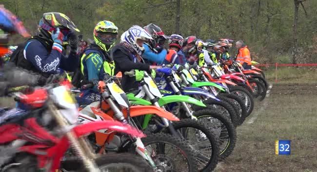 Canal 32 - Motocross : un succès pour l'EnduRiceys