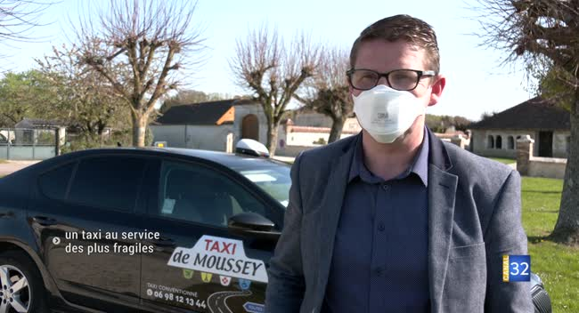 Canal 32 - Moussey : un taxi gratuit au service des plus fragiles de la commune