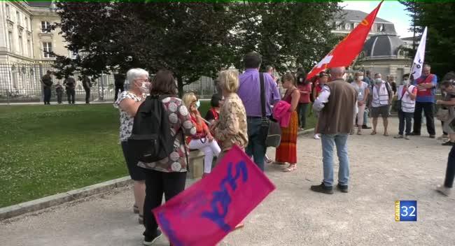 Canal 32 - Moyens dans la Santé : les syndicats veulent maintenir la pression