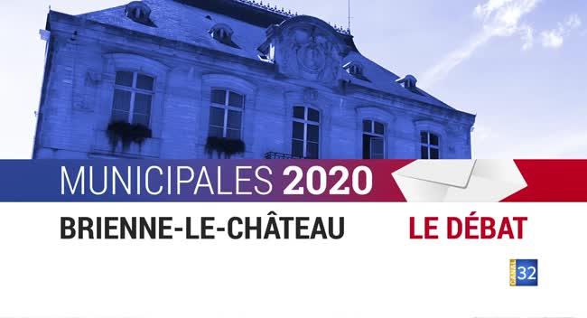 Canal 32 - Municipales 2020 - Brienne-le-Château : le débat entre les candidats