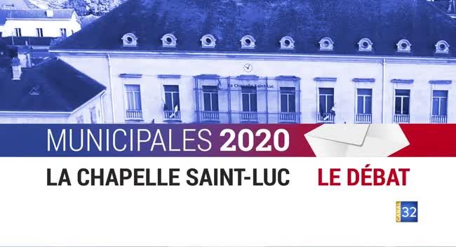 Canal 32 - Municipales 2020 - La Chapelle Saint-Luc: le débat entre les candidats