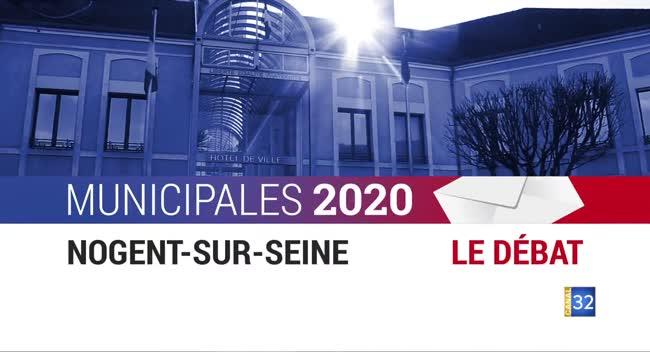 Canal 32 - Municipales 2020 - Nogent/Seine : le débat entre les candidats