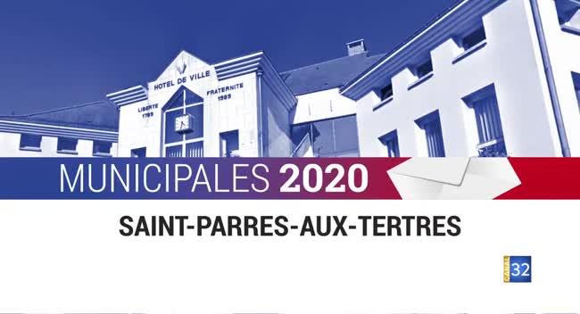 Canal 32 - Municipales 2020 - Saint Parres aux Tertres- Interview du candidat Jack HIRTZIG