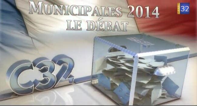 Canal 32 - Municipales : le débat avec les candidats chapelains