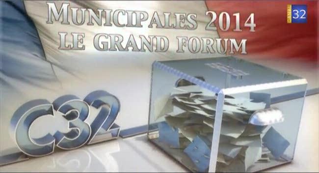 Canal 32 - Municipales St André les Vergers : le grand forum