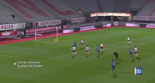 Ligue 2: Troyes se hisse en tête