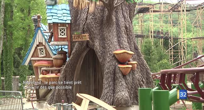 Canal 32 - Nigloland : le parc d'attractions se prépare à rouvrir dès que possible