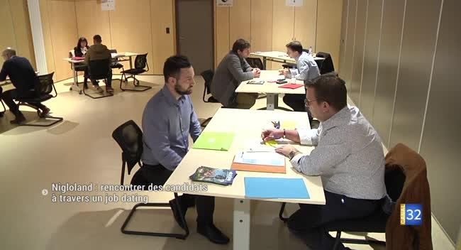 Canal 32 - Nigloland : rencontrer les candidats à travers un job dating