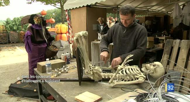 Canal 32 - Dolancourt : Nigloland se prépare pour Halloween