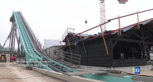 Canal 32 - Nigloland : dans les coulisses de la nouvelle attraction