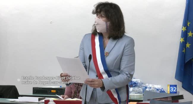 Canal 32 - Nogent-sur-Seine : Estelle Bomberger-Rivot est (ré)élue maire
