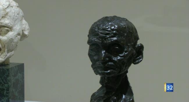 Canal 32 - Musée Claudel de Nogent-sur-Seine : les quatre nouvelles oeuvres sont arrivées