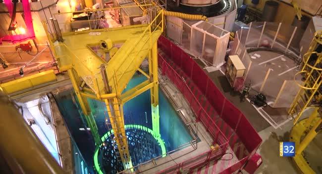 Canal 32 - Nogent-sur-Seine : une visite décennale pour la centrale nucléaire