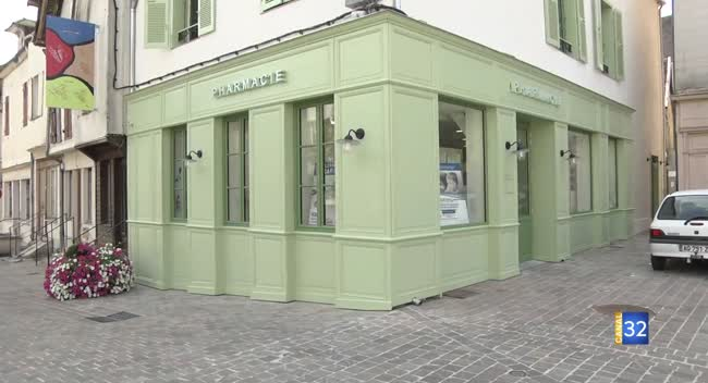 Canal 32 - Ervy-le-Châtel : un nouveau départ pour la pharmacie