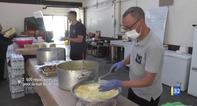 Canal 32 - Nuit du destin : 2 500 repas livrés en hommage aux victimes du Covid-19