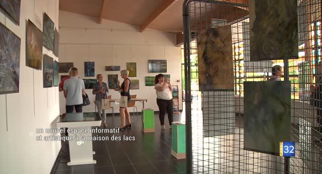 Canal 32 - Mesnil-Saint-Père : un nouvel espace informatif et artistique à la maison des lacs