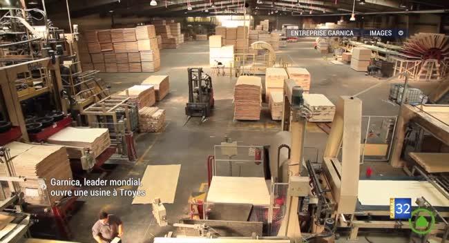 Canal 32 - Parc du Grand Troyes : une nouvelle usine et 300 emplois espérés avec Garnica