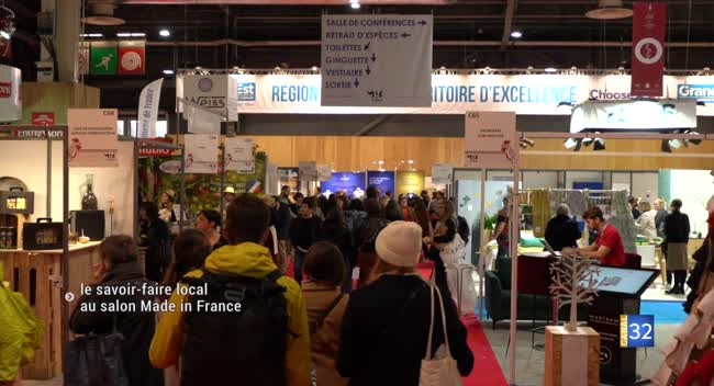 Canal 32 - Paris : le salon du Made in France met en avant l'Aube