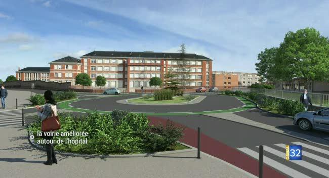 Canal 32 - Parking, rond-point... la voirie autour de l'hôpital de Troyes soignée