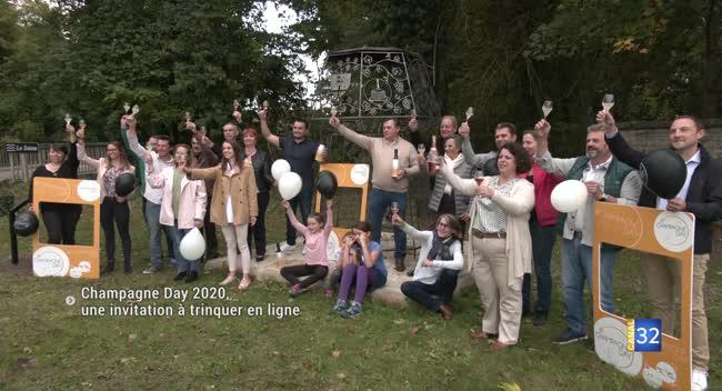 Canal 32 - Partagez vos photos sur les réseaux pour le Champagne Day