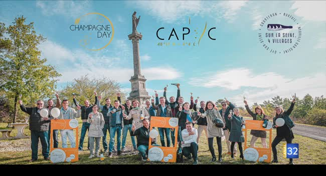 Canal 32 - Passion Champagne - l'organisation du Champagne Day