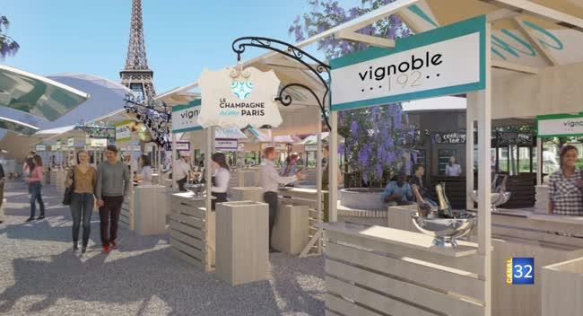Canal 32 - Passion Champagne - Le Champagne aime Paris, 1ère édition en 2020