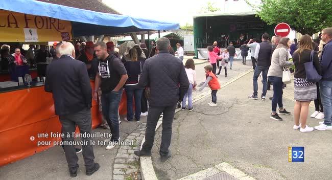 Canal 32 - Piney : près de 6 000 personnes à la foire à l'andouillette