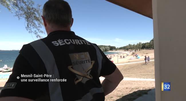 Canal 32 - Plage de Mesnil-Saint-Père : les incivilités sous surveillance