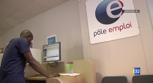 Canal 32 - Pôle Emploi : en grève face à la baisse annoncée des effectifs.