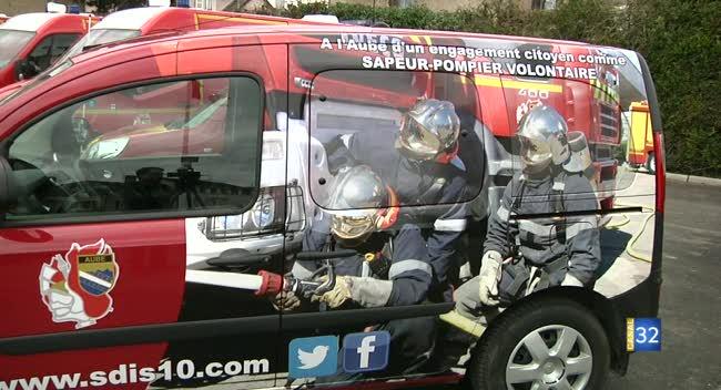 Canal 32 - Pompiers, Medef et la société Enedis favorisent le volontariat