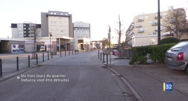 Canal 32 - Pont-Sainte-Marie : les trois tours du quartier Debussy vont être détruites