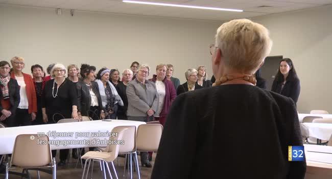 Canal 32 - Pont-Sainte-Marie : un déjeuner pour valoriser les femmes du département