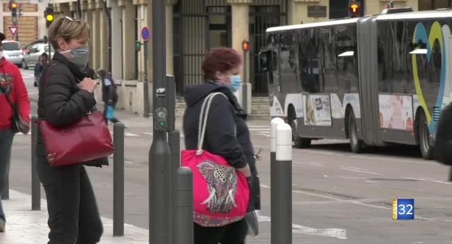 Canal 32 - Port du masque à Troyes : pas d'obligation, mais une forte incitation