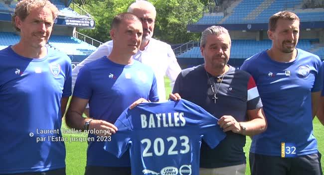 Canal 32 - Estac : Laurent Batlles et son staff prolongés jusqu'en juin 2023