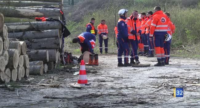 Canal 32 - Protection Civile : 140 fausses victimes pour simuler une tempête