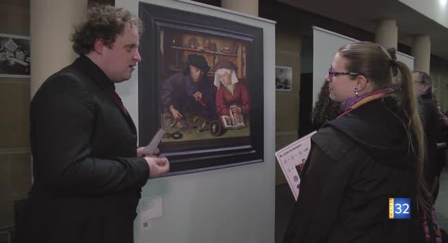 Canal 32 - Quand des étudiants proposent une visite du Louvre depuis la Fac de Troyes !