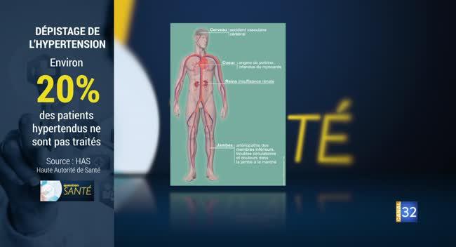 Canal 32 - Question santé - L'hypertension artérielle