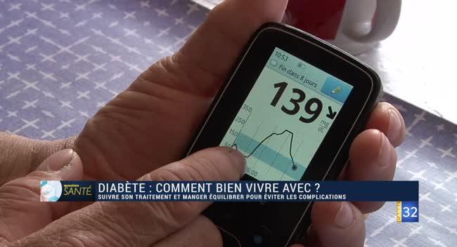 Canal 32 - Question Santé - Prévenir les complications du diabète